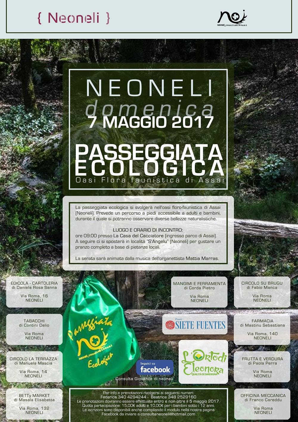 Passeggiata ecologica del il 7 maggio 2017